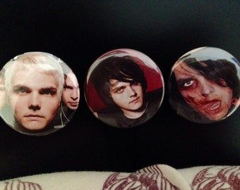 """1.5"""" Gerard Way Button"""