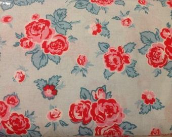 Milk Sugar Flower fabric C4340 BLUE