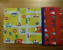 Pillowcase Kit- 100% Cotton - Cars