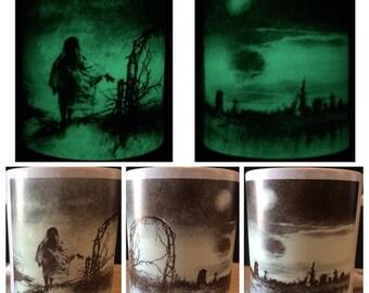 Scary Stories To Tell In The Dark Glow In The Dark Ceramic Mug