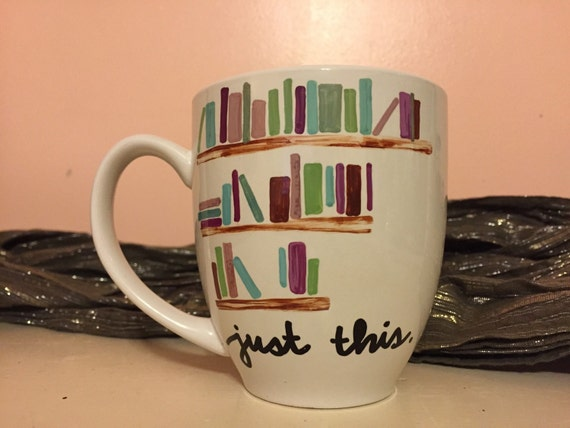 Book Lover Handmade Coffee Mug
