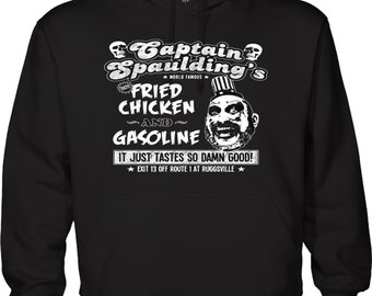 Captain Spaulding Fried ChickenHouse of a 1000 Corpses Horror Hoodie