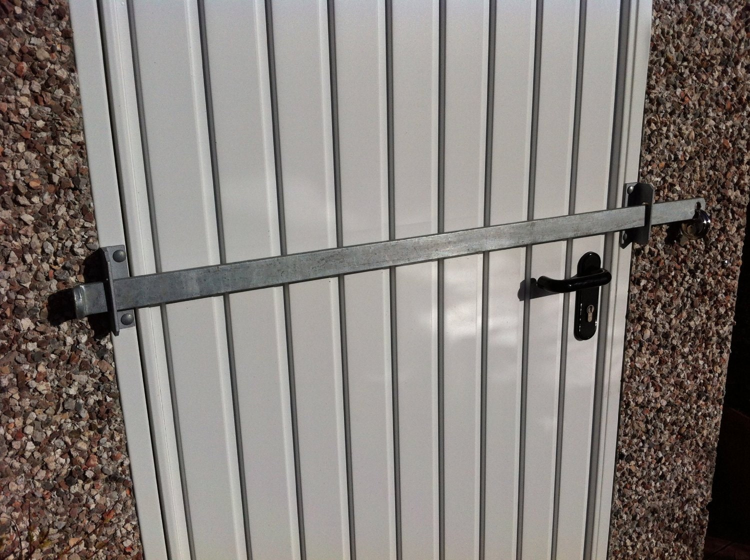 Shed Security Locking Bar