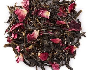 Flowering Rose Garden Herbal Green Tea
