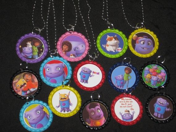 dreamworks home lot of 15 party favors bottlecap necklace necklaces ...
