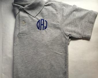 Monogrammed polo shirt- BOYS