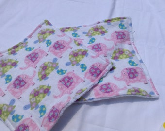 Pastel Reusable Tissues- Washable Wipes Washable Tissues Cloth Wipes Minky Wipes Eco Friendly Reusable Napkins Washable Napkins