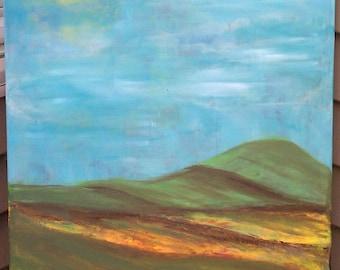 Landscape painting, Acrylic painting, Original painting,