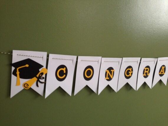 Items similar to Graduation Banner | Congratulations ...