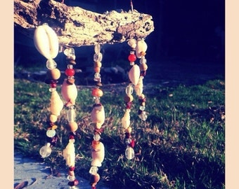 Beach Beaded driftwood