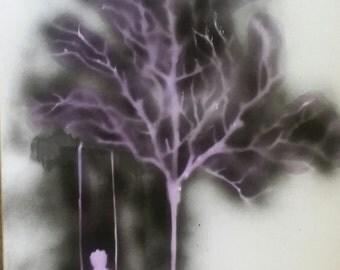 Swing boy, Swing. Spray Original Painting