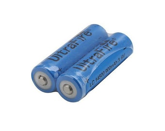 Additional Battery for LED Hula Hoop - Lithium Li-Ion AAA AA Battery 3.7v