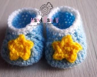 Crochet Baby Booties / Slippers