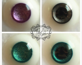ATG eyes 8mm resin eyes for bjd, custom colors and iris/pupil sizes available