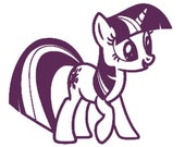 Twilight Sparkle Inspired Vinyl Decal My Little Pony