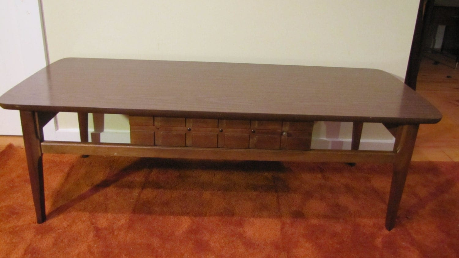 mersman coffee table 8167 mid century modern coffee table