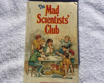 The Mad Scientists' Club Vintage Book