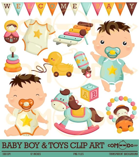 Baby Boy Toys Clip Art : Buy get baby boy cute clipart toys digital by comodo