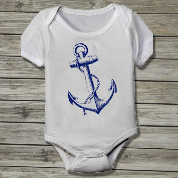 Nautical baby onesies, pants, oxfords, dresses, leggings and long sleeve onesies for your nautical baby.