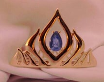 24K Gold Plated! Frozen Elsa Tiara Crown, Frozen Birthday Costume Crown! Party Favor! Fast Shipping! Perfect Stocking Stuffer!
