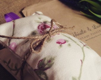 British made, organic lavender pillows, bags, sachets, pouches
