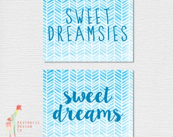 Sweet Dreams/Dreamsies Downloadable PDF Poster Set
