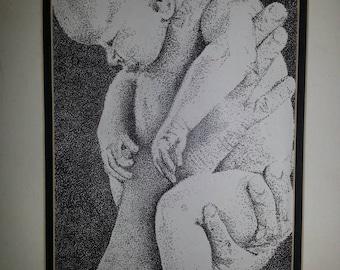 Stipple. Custom, one of a kind illustrations