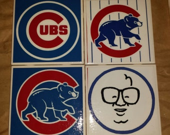 Chicago Cubs Coasters Price Reduced!