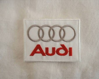 German Cars Audi Volkswagen Embroidered Patch (Single)