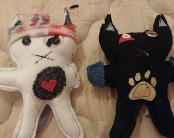 Handmade Personalized small odd plushies