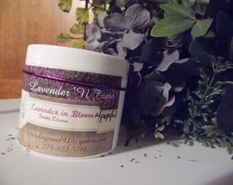 Lavender 'N Time Lavender 'n Bloom with Jasmine Foot Creme