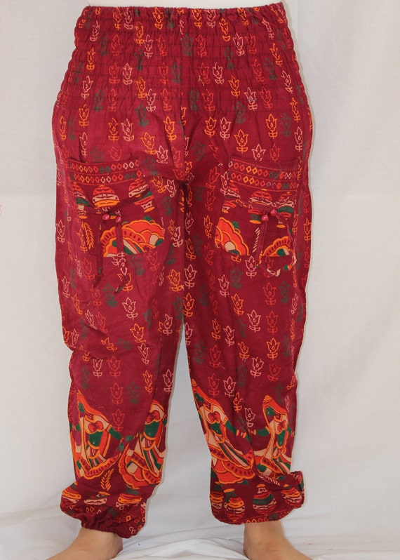 Cool Indian Harem Yoga Baggy Trousers Women Pant Ali Baba Trouser Boho