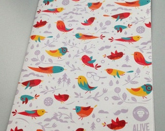 ALIVE Gift Wrap Paper BIRDS | 2 papers