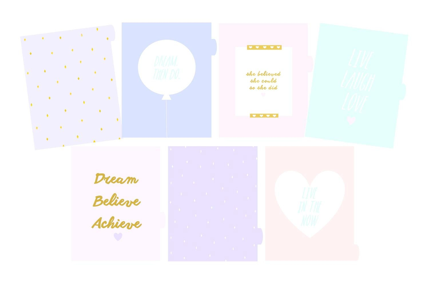 A5 Filofax Kikki K Planner Divider Sections By