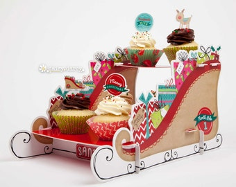 North Pole Race Cake Stand