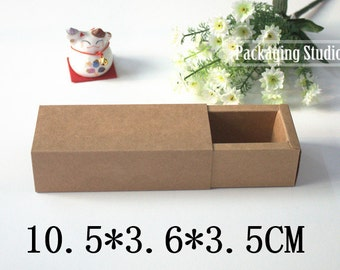 Cosmetic Bottle Boxes Perfume Packaging Boxes Gift Kraft Paper Box Custom Drawer Boxes 50 pieces