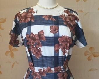 1950s vintage cotton dress