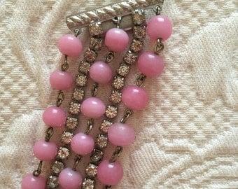 Vintage Kramer of New York multi strand bracelet
