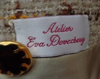 Eva Devecsery Women's Suit jacket and skirt