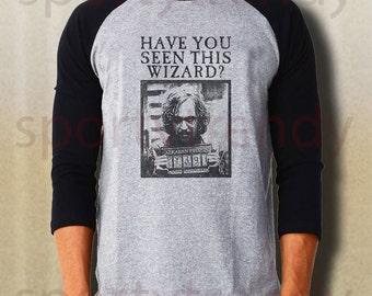 Have you seen this wizard raglan baseball tee sirius black shirt gray IDAJ