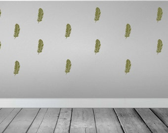 Feather Wall Sticker Wall Decal