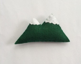 Handmade Felt Mountain Catnip Cat Toy