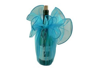 """28"""" Organza Wrapper with Cord Tie - (12 pieces) - Free Shipping!"""