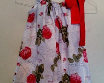 SALE SALE SALE-5 Toddler Paris pillowcase dress