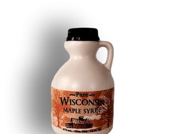 100% Pure Wisconsin Maple Syrup Pint