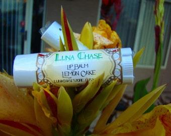 Handmade Summer Fun Lip Balm, Lemon Cake Flavor