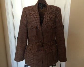 Vintage Wool Jacket, size 10
