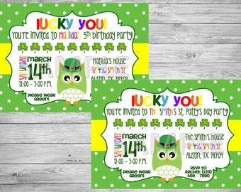 owl birthday invite  etsy, Birthday invitations