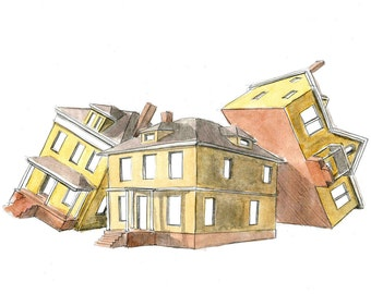 House Perspective Print 2