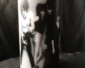 The Cramps White Unscented Pillar Candle